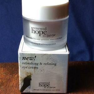 philosphy renewed hope in a jar eye cream